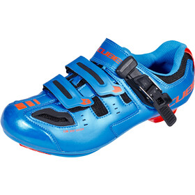 Cube Road Pro Scarpe, blue'n'flashred